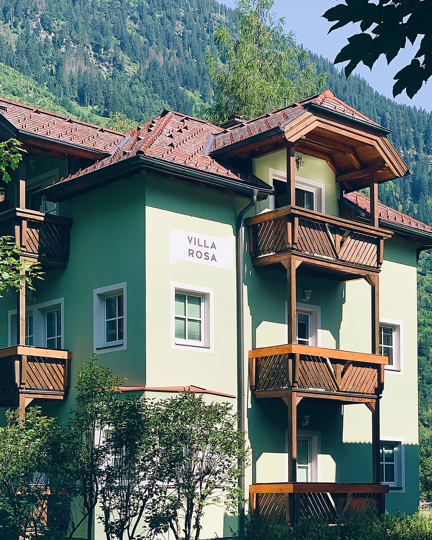 Villa Rosa Außenansicht